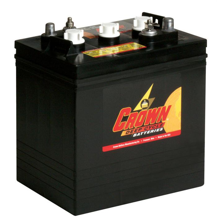 crown 6 volt golf cart battery exchange price on sale now. Black Bedroom Furniture Sets. Home Design Ideas